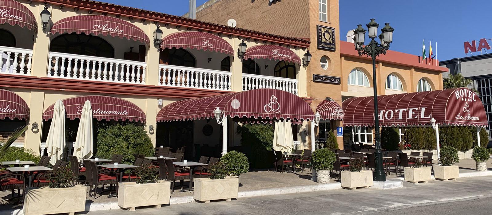 hotel los bronces en Lucena Córdoba